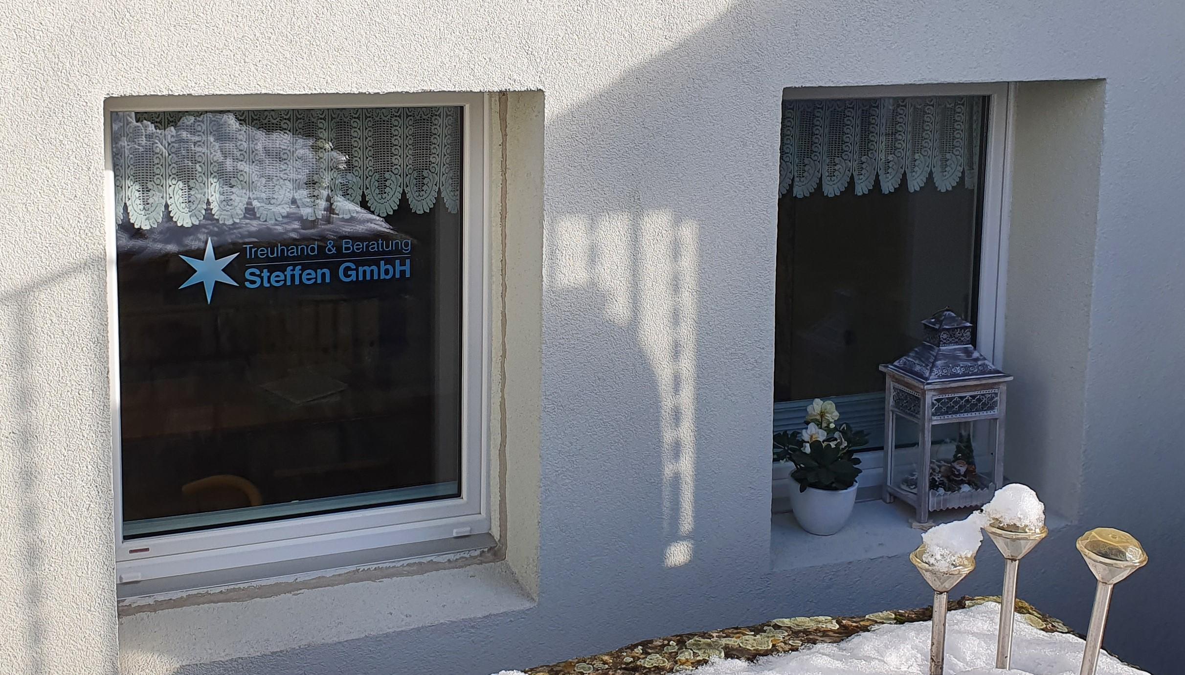 Eingang Büro Treuhand & Beratung Steffen GmbH